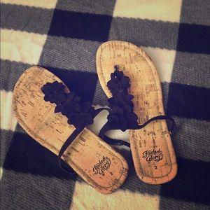 cute flower sandals